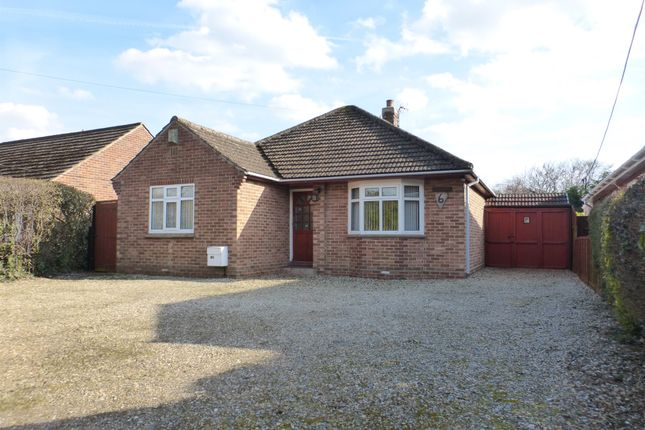 Thumbnail Detached bungalow for sale in Windmill Lane, Costessey, Norwich