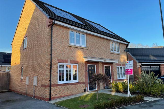 Thumbnail Semi-detached house for sale in Oak Drive, Harrogate