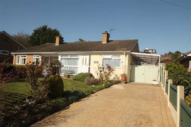 Thumbnail Semi-detached bungalow for sale in Rockwell Lane, Pant, Oswestry