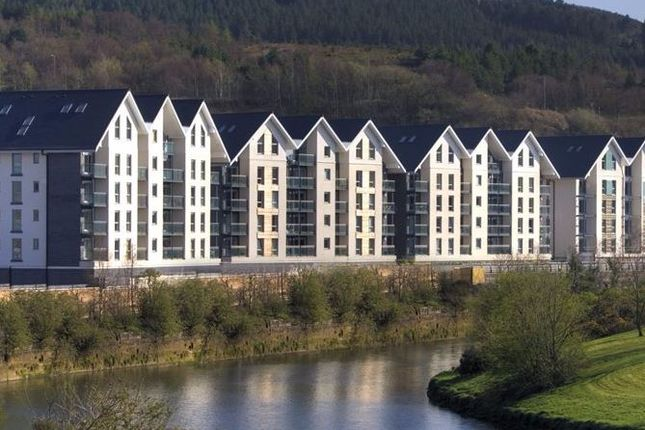 Thumbnail Flat to rent in Phoebe Road, Copper Quarter, Swansea, Abertawe