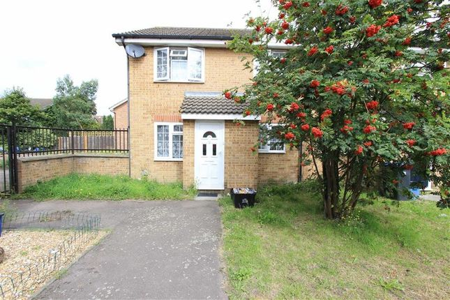 Thumbnail End terrace house for sale in Lancaster Place, Ilford, Essex