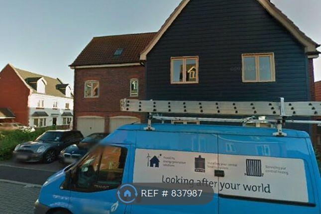 Thumbnail Flat to rent in Loughton, Milton Keynes