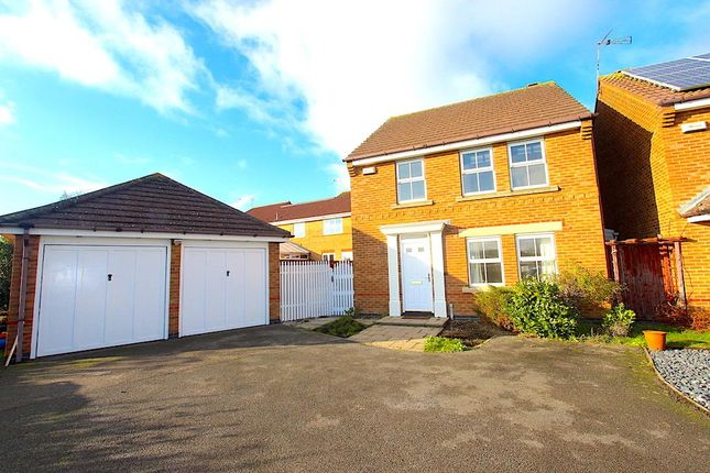 Thumbnail Detached house to rent in Murby Way, Thorpe Astley, Braunstone, Leicester