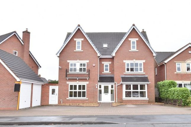 Thumbnail Detached house for sale in Harvest Fields Way, Four Oaks, Sutton Coldfield