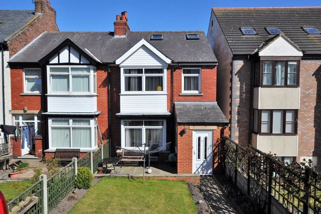 3 bed semi-detached house for sale in Cleveland Terrace, Whitby YO21