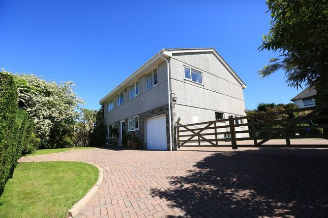 Thumbnail Detached house for sale in Highfield Drive, Wembury, Plymouth