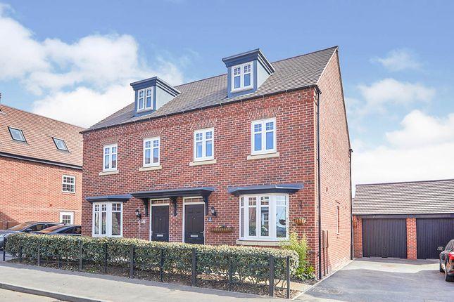 Thumbnail Semi-detached house for sale in Brick Kiln Road, Newton Solney, Burton-On-Trent, Derbyshire