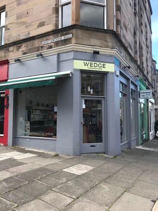 Thumbnail Retail premises for sale in Marchmont Road, Edinburgh