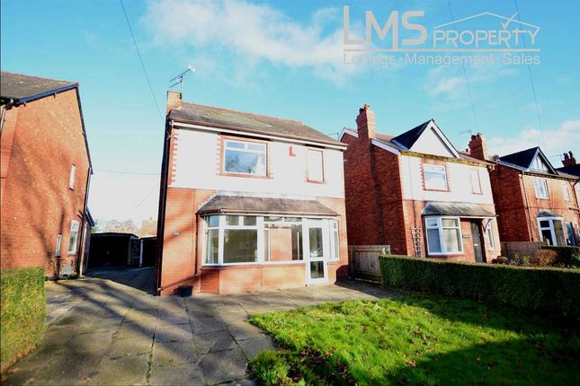 Thumbnail Detached house to rent in Delamere Street, Winsford