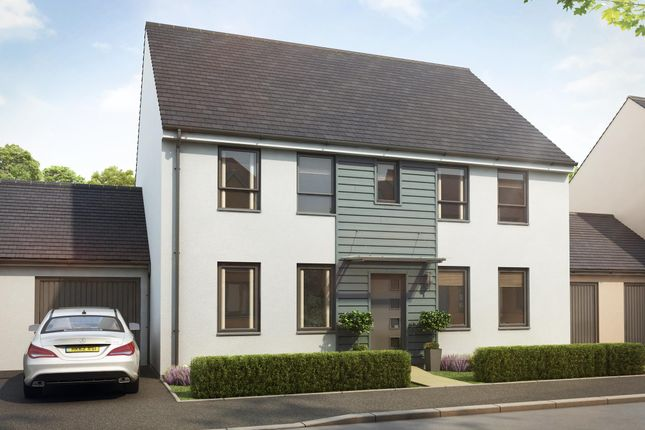 "Thumbnail Detached house for sale in ""Chelworth"" at Church Close, Ogmore-By-Sea, Bridgend"
