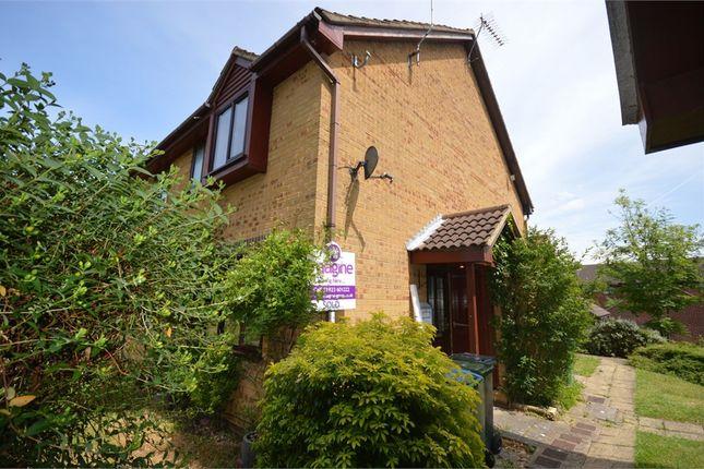 Thumbnail End terrace house to rent in Aspen Park Drive, Garston, Hertfordshire