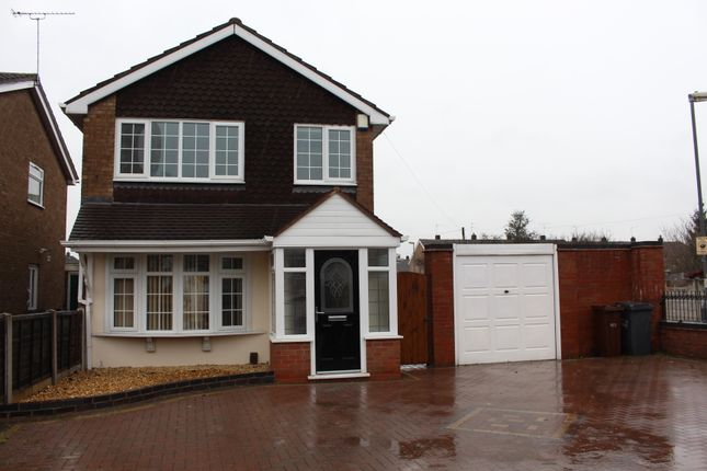 Thumbnail Detached house to rent in Trysal Road, Wolverhampton