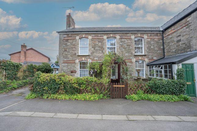 Thumbnail Semi-detached house for sale in Penperlleni, Pontypool