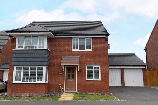 Thumbnail Detached house for sale in Crump Way, Evesham