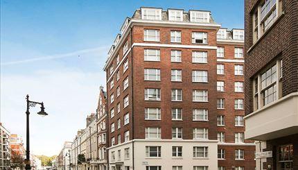 External of Hill Street, London W1J