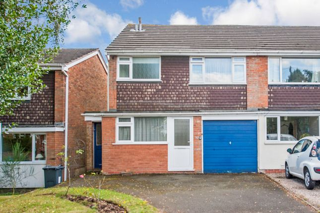 Thumbnail Semi-detached house to rent in Four Oaks Common Road, Sutton Coldfield