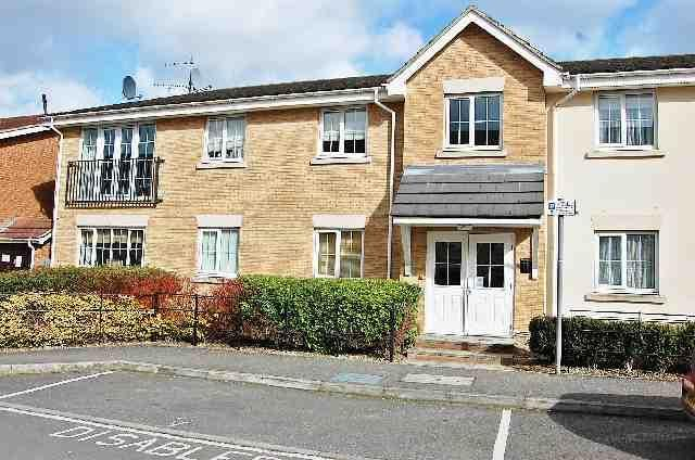 Thumbnail Flat to rent in Coleridge Way, Elstree, Borehamwood