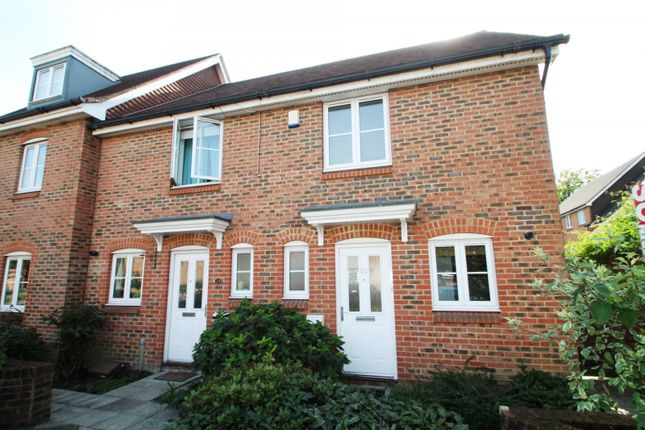 Thumbnail End terrace house to rent in Tylehurst Drive, Redhill