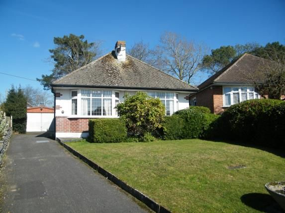 Thumbnail Bungalow for sale in Moorland Crescent, Upton, Poole