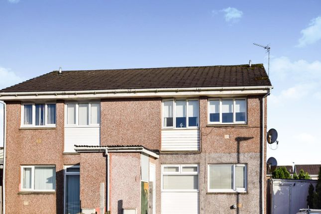 Front View of Currieside Avenue, Shotts ML7
