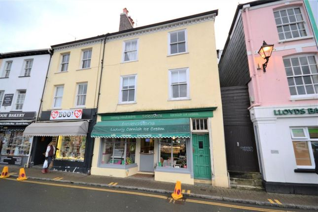Thumbnail Commercial property for sale in Fore Street, East Looe, Looe, Cornwall