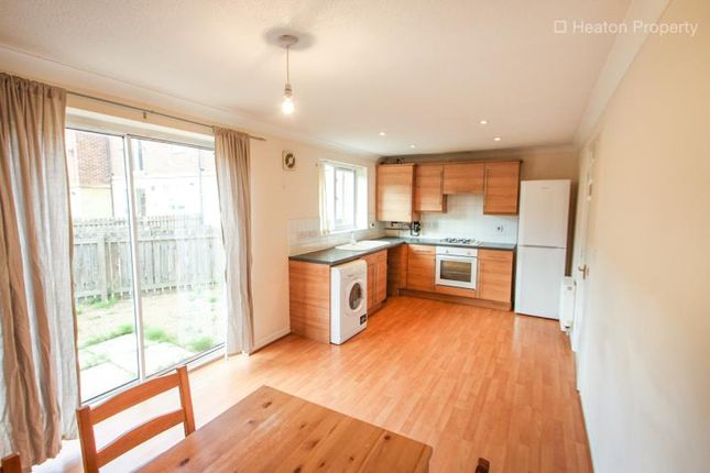Thumbnail Town house to rent in Hartford Court, Heaton, Newcastle Upon Tyne, Tyne And Wear