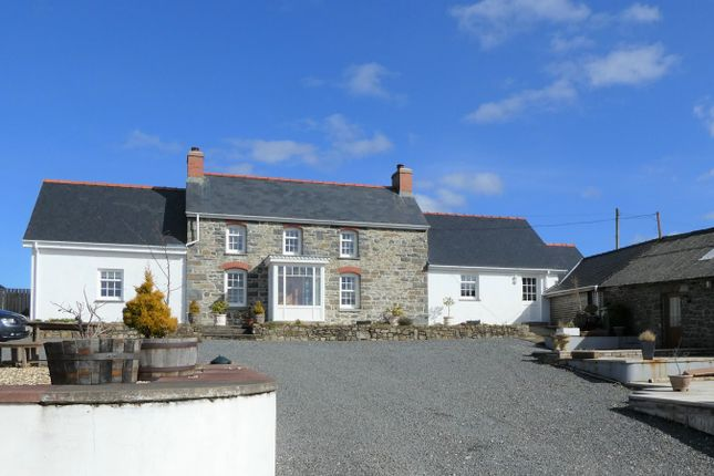 Thumbnail Detached house for sale in Llanarth, Ceredigion