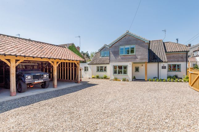 Thumbnail Detached house for sale in The Moor, Reepham, Norwich