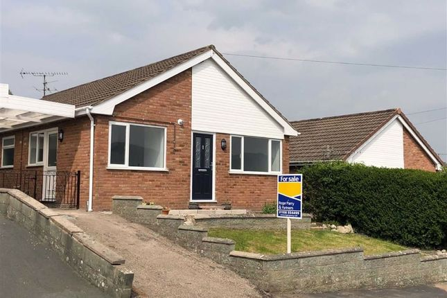 Thumbnail Detached bungalow for sale in Brynglas, Welshpool