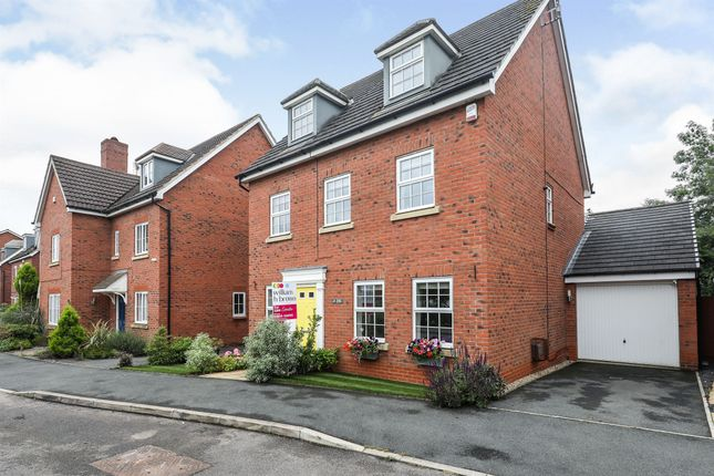 Thumbnail Detached house for sale in Middle Meadow, Shireoaks, Worksop
