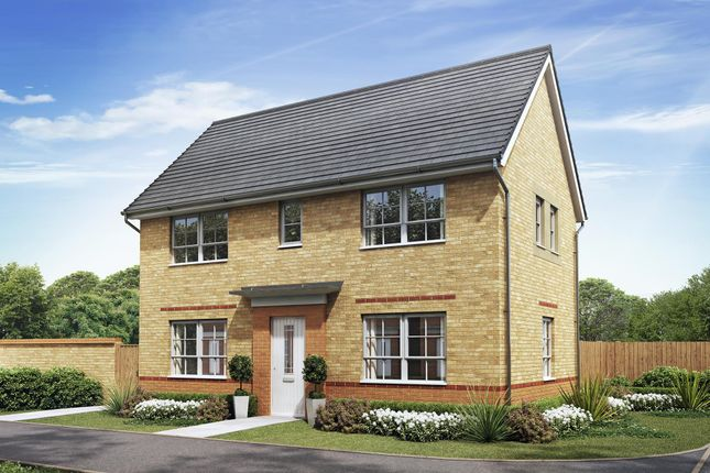 "Thumbnail Semi-detached house for sale in ""Ennerdale"" at Heol Pentre Bach, Gorseinon, Swansea"