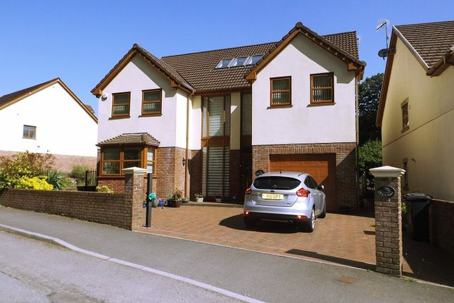 Thumbnail Detached house for sale in Swn Y Nant, Varteg Row, Bryn, Port Talbot, Neath Port Talbot.