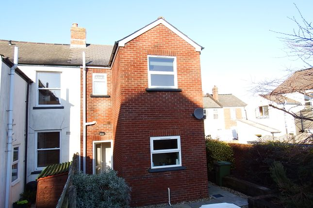 Thumbnail End terrace house to rent in Courtenay Road, Exeter