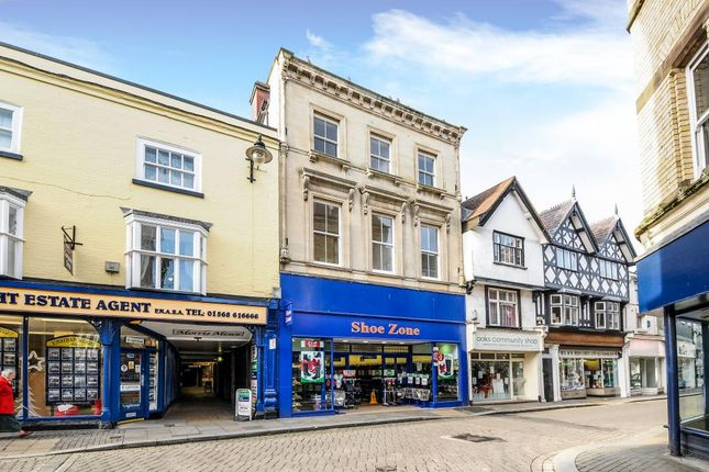 Thumbnail Flat to rent in High Street, Leominster