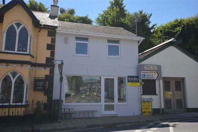 1 bed terraced house to rent in Fore Street, Shaldon, Devon