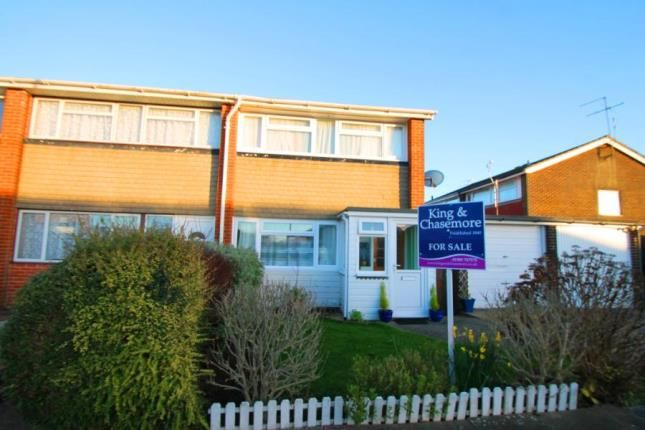 Thumbnail End terrace house for sale in Brook Way, Lancing, West Sussex