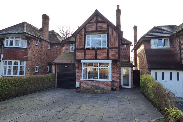 Thumbnail Detached house for sale in Shakespeare Drive, Shirley, Solihull, West Midlands