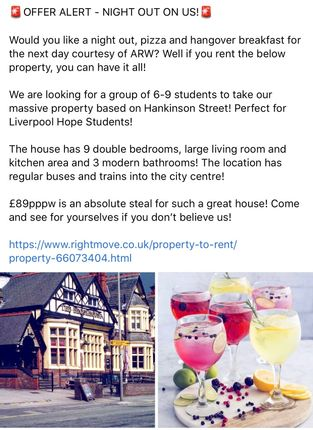 Thumbnail Terraced house to rent in Hankinson Street, Liverpool, Merseyside