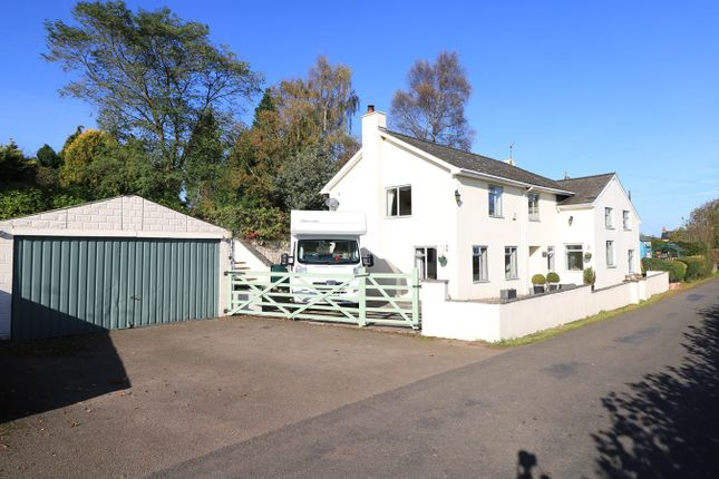 Thumbnail Detached house for sale in Firs Road, Llanvapley, Abergavenny