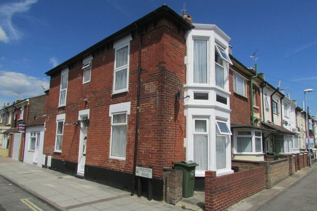 Thumbnail End terrace house to rent in Powerscourt Road, Portsmouth