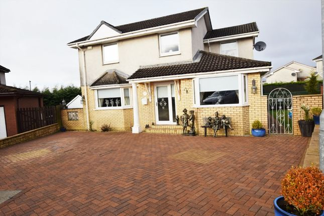 Thumbnail Detached house for sale in Doune Crescent, Airdrie