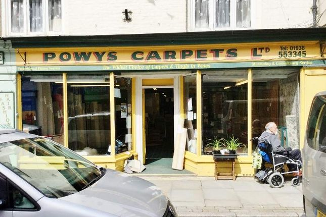 Thumbnail Retail premises for sale in Berriew Street, Welshpool