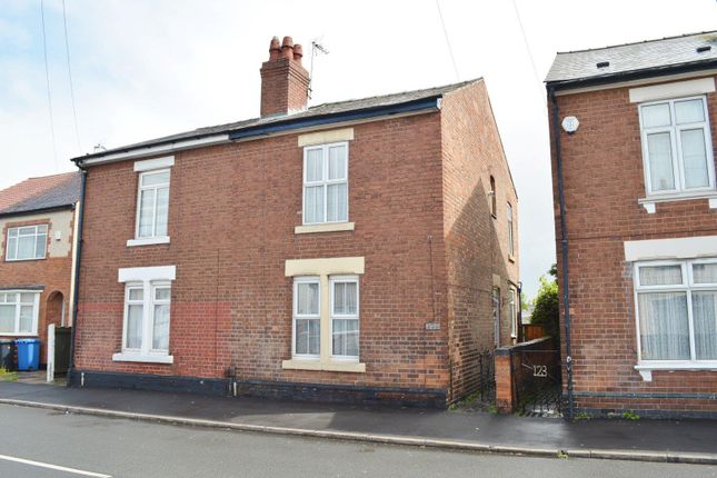 Thumbnail Semi-detached house to rent in Bower Street, Alvaston, Derby