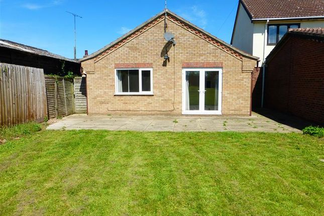 Thumbnail Detached bungalow to rent in The Street, Holywell Row, Bury St. Edmunds