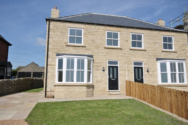 Thumbnail Semi-detached house for sale in Bellerby Road, Leyburn, North Yorkshire