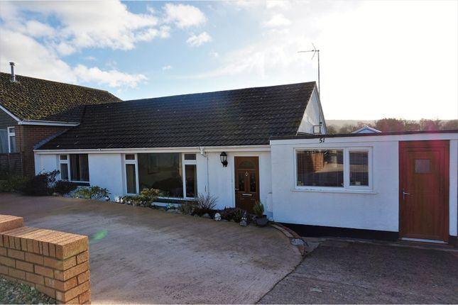 Thumbnail Semi-detached bungalow for sale in Raleigh Road, Ottery St. Mary