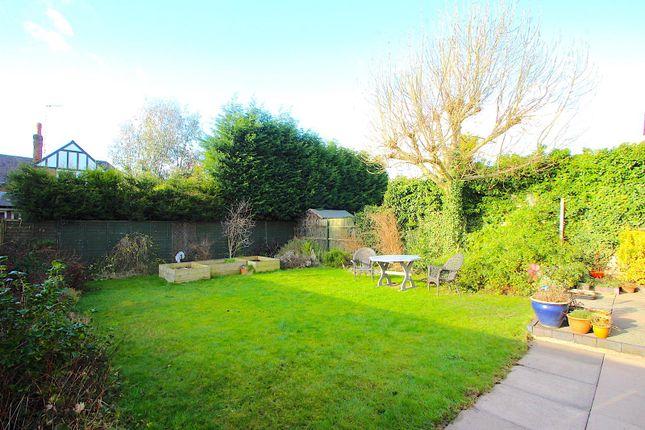 Rear Garden of Meadhurst Road, Western Park, Leicester LE3