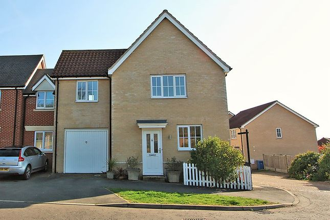 Thumbnail Link-detached house for sale in Crown Field Road, Glemsford