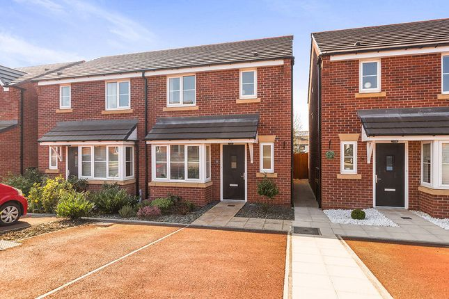 Thumbnail Semi-detached house for sale in Grove Farm Drive, Adlington, Chorley