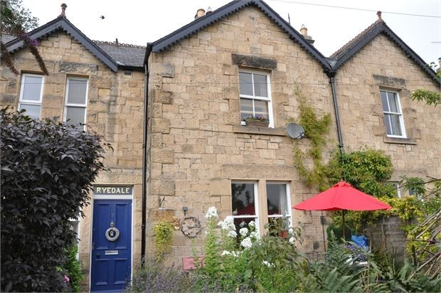 Thumbnail Terraced house for sale in Alexandra Terrace, Haydon Bridge, Northumberland.